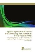Spektralphotometrische Bestimmung von Nitrat in der Bodenlösung