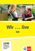 Wir - Grundkurs Deutsch für junge Lerner: Wir / Wir ... live, DVD; .1-3