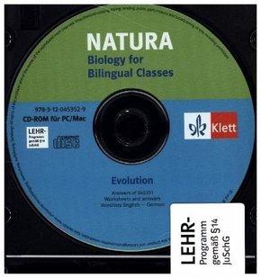 Natura, Biology for Bilingual Classes, S II: Evolution, CD-ROM