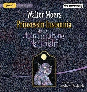 Prinzessin Insomnia & der alptraumfarbene Nachtmahr, 1 MP3-CD