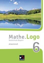 Mathe.Logo, Realschule Bayern (2017): 6. Jahrgangsstufe, Arbeitsheft