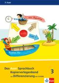 Das Auer Sprachbuch, Ausgabe Bayern (2014): 3. Schuljahr, Kopiervorlagenband zur Differenzierung, m. CD-ROM