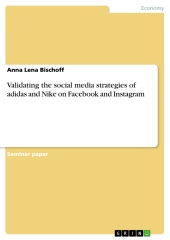 Validating the social media strategies of adidas and Nike on Facebook and Instagram