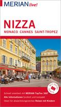 MERIAN live! Reiseführer Nizza, Monaco, Cannes, Saint-Tropez