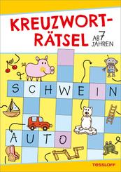 Kreuzworträtsel (Gelb/Schwein), ab 7 Jahren