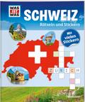 Schweiz, Rätseln und Stickern - Was ist Was, Rätseln und Stickern