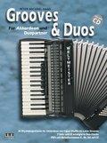 Grooves & Duos, für Akkordeon und Duopartner, m. MP3-CD