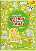 Großes Sticker-Buch Tiere