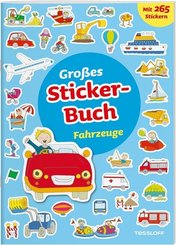 Großes Sticker-Buch Fahrzeuge