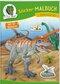 Sticker-Malbuch Dinosaurier