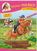 Sticker-Malbuch Pferde