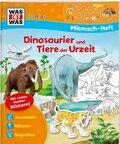 Dinosaurier und Tiere der Urzeit, Mitmach-Heft - Was ist was junior Mitmachheft