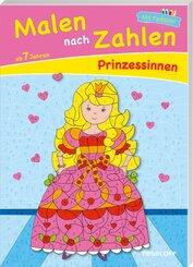 Malen nach Zahlen Prinzessinnen