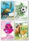 Lernfreunde Aufgabenheft Farbenfroh Mini A6 (sortiert)
