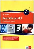 deutsch.punkt, Differenzierende Ausgabe: 8. Klasse, Serviceband mit CD-ROM; .4