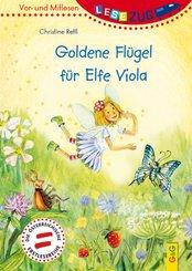 Goldene Flügel für Elfe Viola