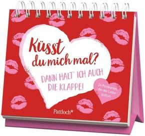 Küsst du mich mal? Dann halte ich auch die Klappe!, 24 Postkarten