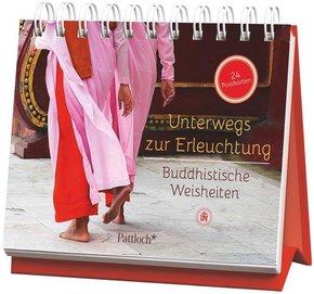 Unterwegs zur Erleuchtung - Buddhistische Weisheiten, 24 Postkarten