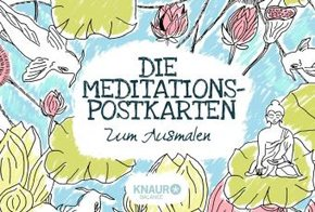 Die Meditations-Postkarten zum Ausmalen