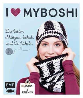 I love myboshi - Die besten Mützen, Schals und Co. häkeln; Volume 1