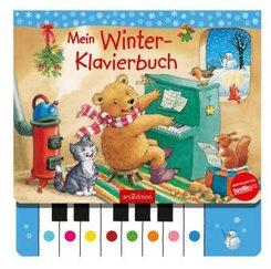 Mein Winter-Klavierbuch, m. Klaviertastatur
