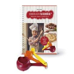 Kinderleichte Becherküche - Plätzchen, Kekse, Cookies & Co., m. Messbecher-Set 3-tlg.