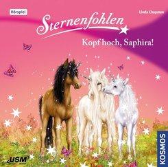 Sternenfohlen - Kopf hoch, Saphira!, 1 Audio-CD