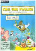 Emil und Pauline, CD-ROMs: Deutsch und Mathe für die 2. Klasse, 1 CD-ROM; .3