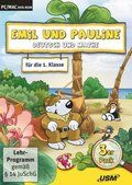 Emil und Pauline, CD-ROMs: Deutsch und Mathe für die 1. Klasse, 1 DVD-ROM; Box.2