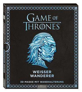Game of Thrones - Weißer Wanderer, 3D-Maske mit Wandhalterung