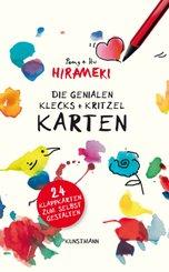 Die genialen Hirameki.Klecks+Kritzel-Karten