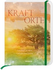 Kraftorte, grün - Notizbuch für Ideen, Gedanken und Träume