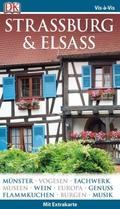 Vis-à-Vis Reiseführer Straßburg & Elsass, m. 1 Karte