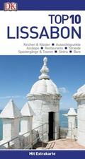 Top 10 Reiseführer Lissabon, m. 1 Karte