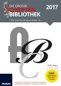 Die große Schriftenbibliothek 2017, DVD-ROM