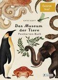 Das Museum der Tiere. Postkarten-Buch