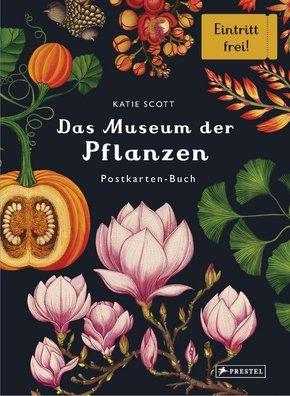 Das Museum der Pflanzen. Postkarten-Buch