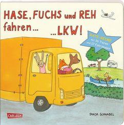 Hase, Fuchs und Reh fahren ... LKW!
