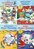 Pixi kreativ  Serie 24 - Weihnachtsspaß mit Adventskalender und Stickern (28 Expl. (4 Titel))