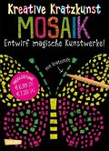 Mosaik, m. Kratzstift