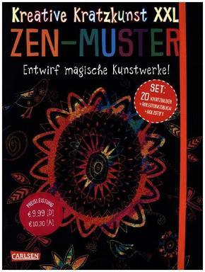 Kreative Kratzkunst XXL: ZEN-Muster