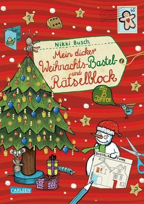 Mein dicker Weihnachts-Bastel- und Rätselblock - Bd.3