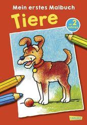 Mein erstes Malbuch Tiere