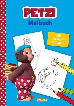 Petzi: Malbuch