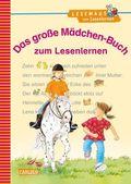 LESEMAUS zum Lesenlernen Sammelbände: Das große Mädchen-Buch zum Lesenlernen