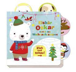 Zieh und schau: Eisbär Oskar sucht den Weihnachtsmann