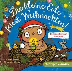 Die kleine Eule feiert Weihnachten, Audio-CD
