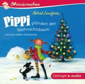 Pippi plündert den Weihnachtsbaum und eine weitere Geschichte, Audio-CD