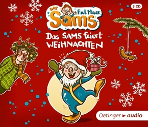 Das Sams feiert Weihnachten, 3 Audio-CDs