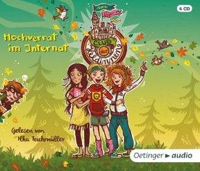 Club der Heldinnen - Hochverrat im Internat, 4 Audio-CDs